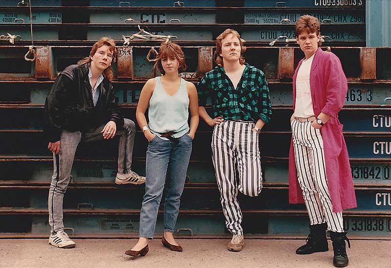 Pyromantic promo-picture ca.1988